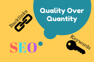 SEO Quality over Quantity