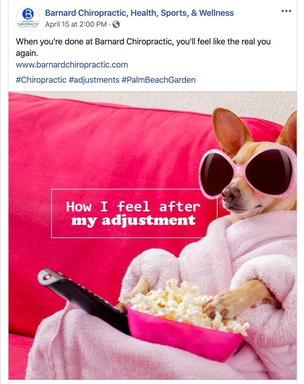 Social Media Posts for Chiropractors