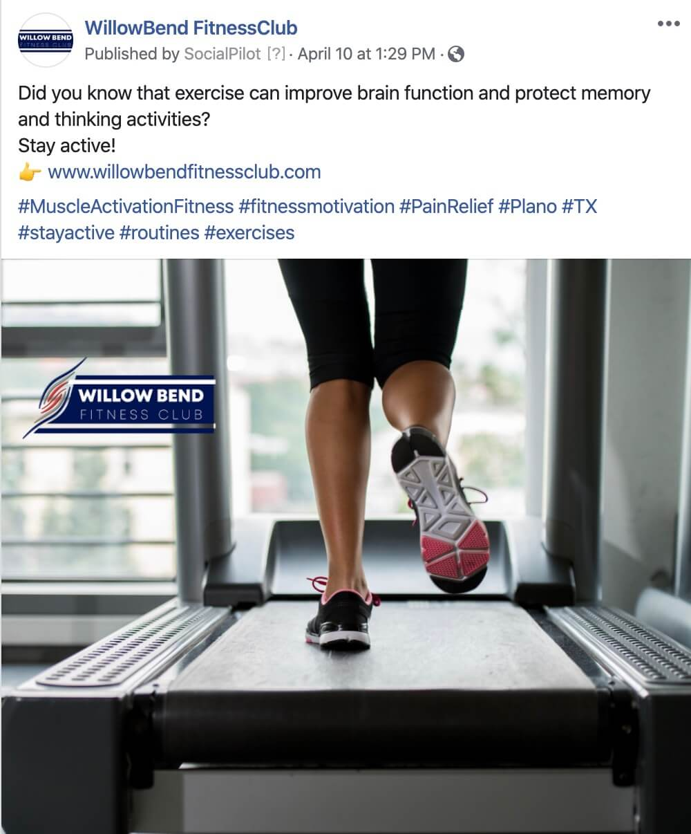Exercise Social Media Posts