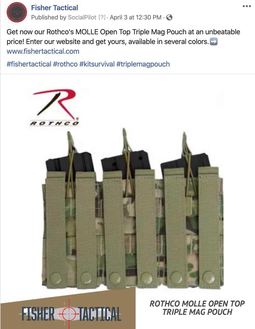 Social Media Posts for Firearms, Armory Gear