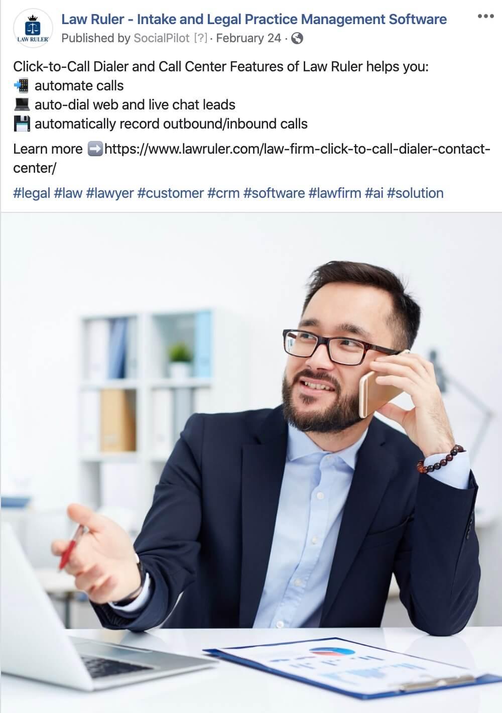 Legal, SAAS Social Media Posts