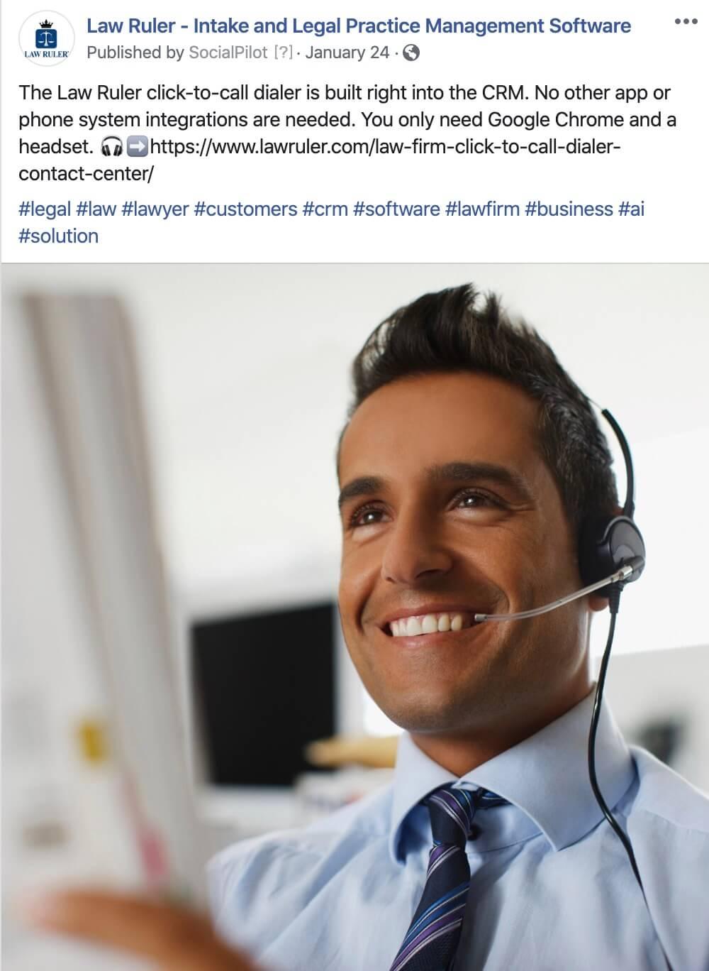 Software Company Social Media Management