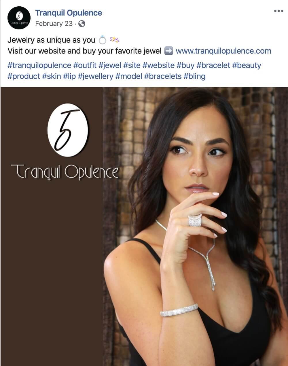 Jewelry Designer Social Media