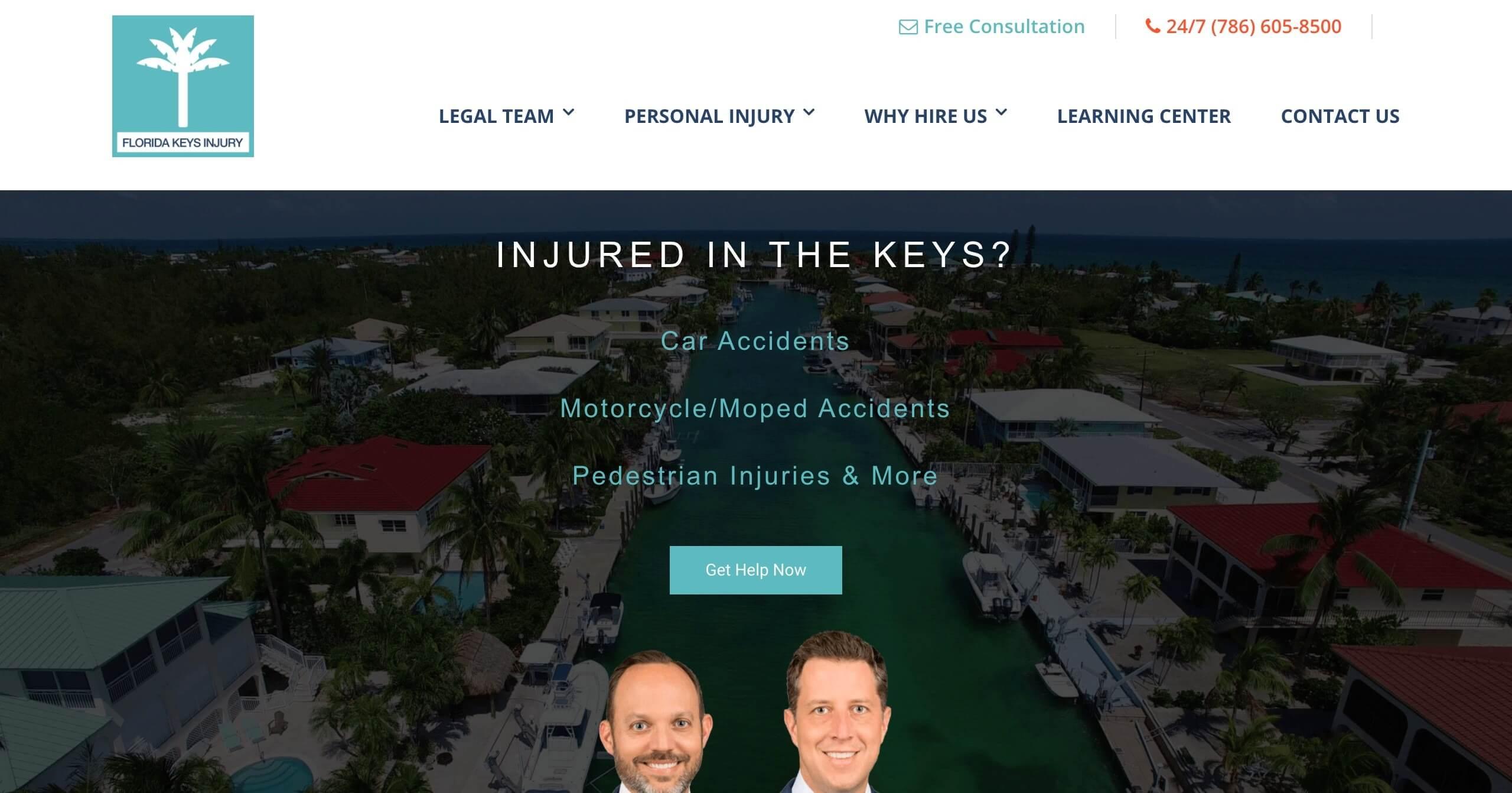 Lyons Snyder / Florida Keys Injury - Case Study