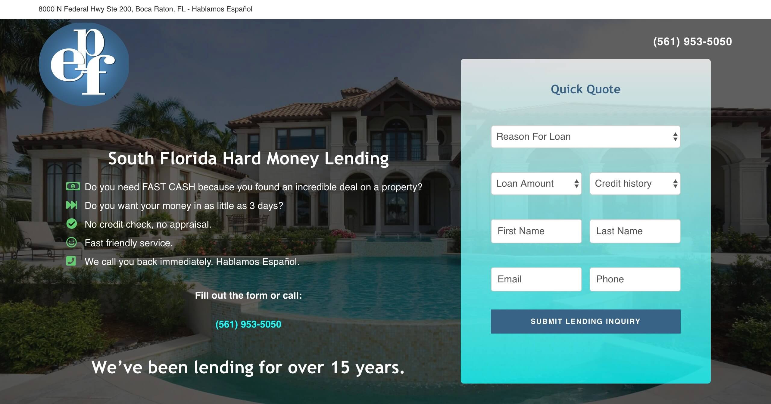 EPF Hard Money Lending - Case Study