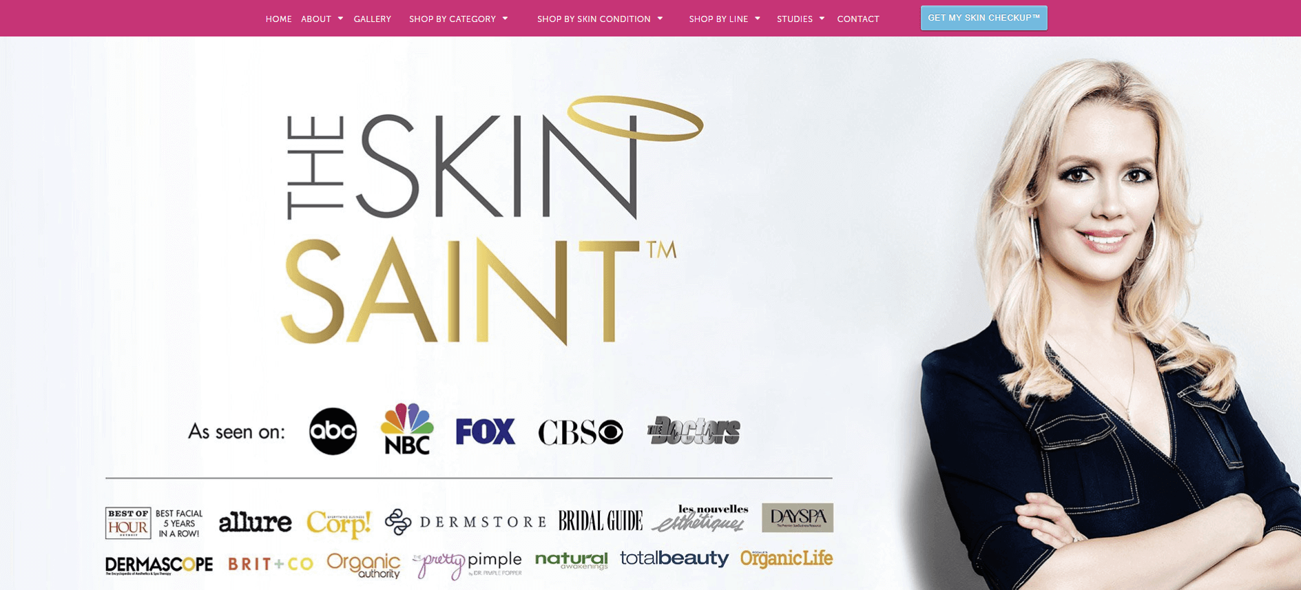 The Skin Saint - Case Study