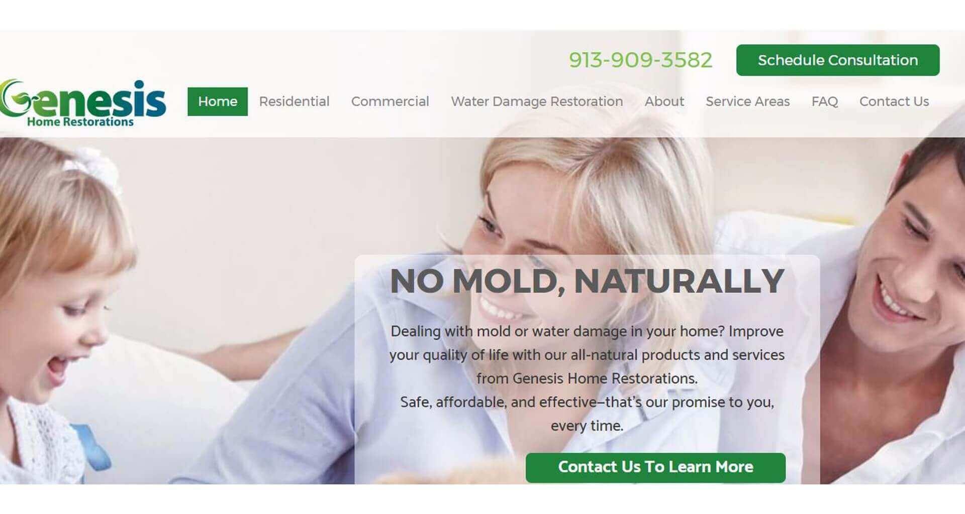 Genesis Home Restorations - Case Study