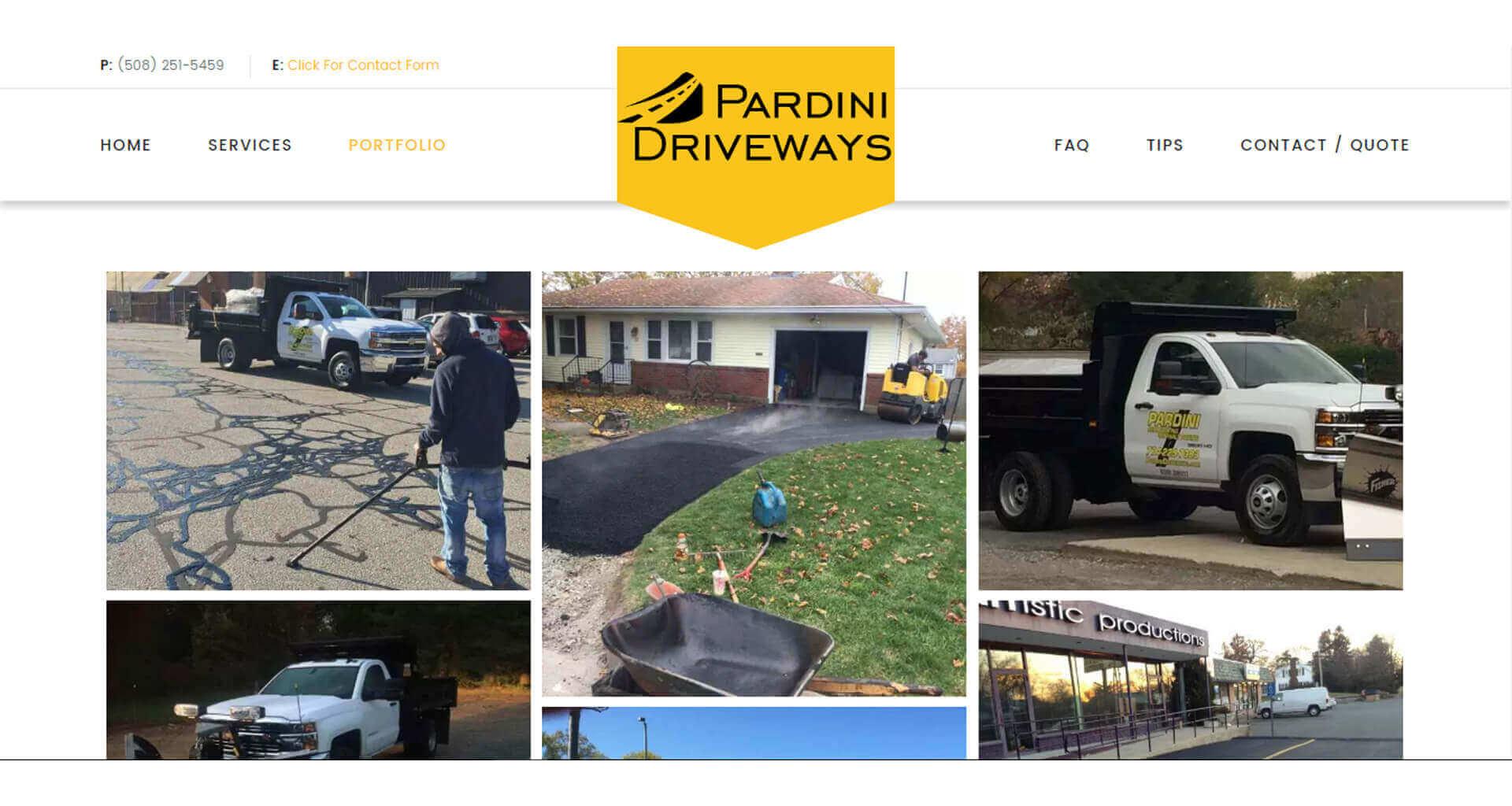 Pardini Driveways - Case Study