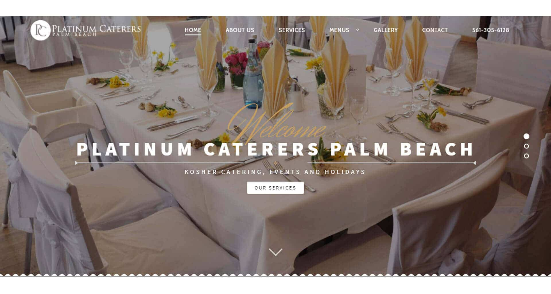 Platinum Caterers Palm Beach - Case Study