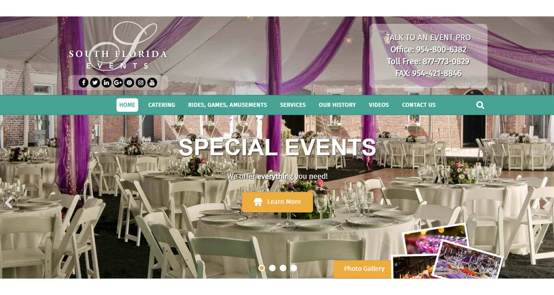 South Florida Events - Case Study